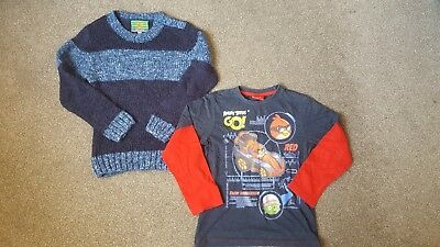 Boys clothes bundle age 7. Angrybirds!