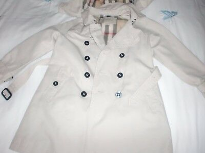 Boys Burberry Trench coat Age 6