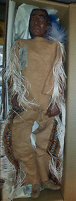 """Daddy Long Legs 'Still River"""" Native  American  by Karen Germany Box and COA"""