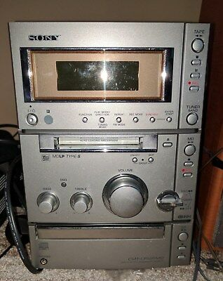 SONY CMT-CP505MD Mini System with Minidisc