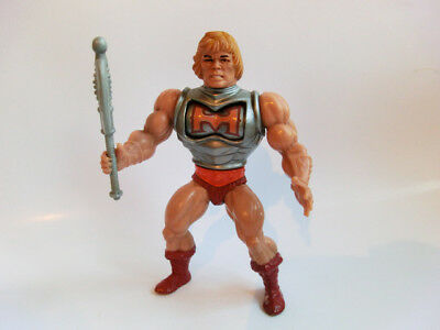 Masters Of The Universe Battle Armor He Man  Vintage Action Figur He Man Motu