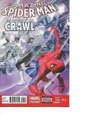The Amazing Spider-Man Vol 3 #1.4 (2014, Marvel) Alex Ross Cover! NM