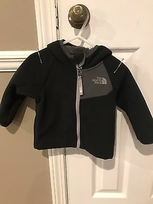 North Face Infant / Toddler 6-12M jacket with hood Used