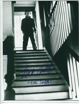 HALLOWEEN michael myers NICK CASTLE autograph HAND SIGNED 5753