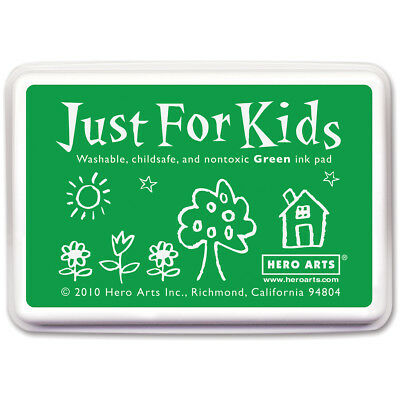 Hero Arts Just For Kids Inkpad Green JFKINK-CS102