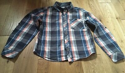 Boys Checked Shirt, Age 7-8 From Pep&co