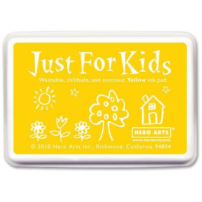 Hero Arts Just For Kids Inkpad Yellow JFKINK-CS111