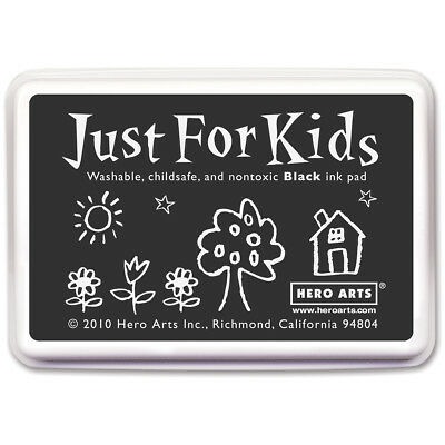 Hero Arts Just For Kids Inkpad Black JFKINK-CS100
