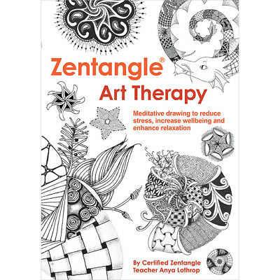 Guild Of Master Craftsman Books Zentangle Art Therapy GU-41079