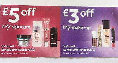 £8 Off Voucher Boots No 7 Skincare & Make Up
