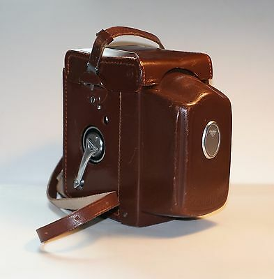 Excellent Condition Leather Case with Strap for Tele-Rolleiflex