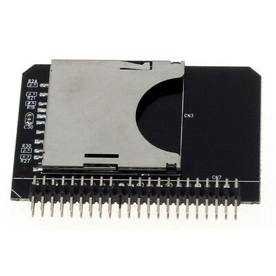 SD SDHC SDXC MMC Memory Card to IDE 2.5 Inch 44Pin Male Adapter Converter V A1H1