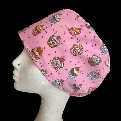 Cup Cakes Operating Theatre Scrub Caps/Hats - nurse, ODP, surgeon etc