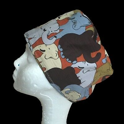 Elephant Parade Operating Theatre Scrub Caps/Hats - nurse, ODP, surgeon etc