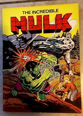 Incredible Hulk Heritage Comic Book Reissue 1978 excellent condition Vintage