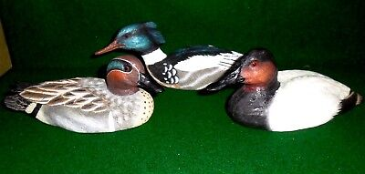 "Lot of (3) ""The Hadley Collection"" of Miniture Ducks:"