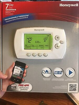 NEW!! Honeywell RTH6580WF 7 Day Programmable Wi Fi Thermostat