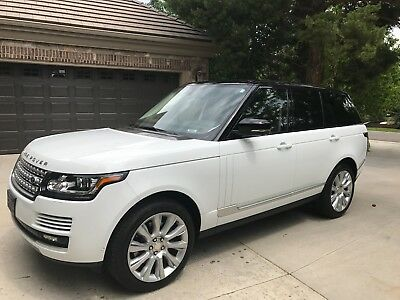 2015 Land Rover Range Rover  2015 Range Rover Supercharged HSE V6 - Exc Condition Loaded One Owner Warranty