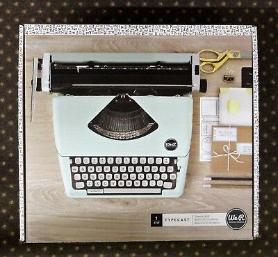 American Crafts Typewriter We R Memory Keepers Typecast MINT Brand New In Box