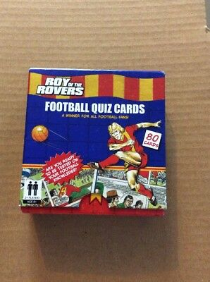 Roy Of The Rovers Football Quiz Cards