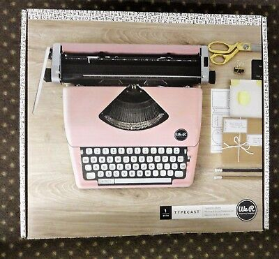 American Crafts Typewriter We R Memory Keepers Typecast Blush Brand New In Box