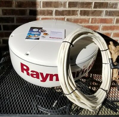 Raymarine RD 218 RD218 2Kw 18 inch Radome with E55065 Cable, Fresh Water Boat