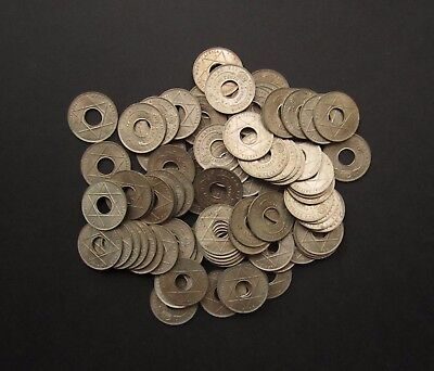 Edward Vii British West Africa Nigeria 1908 1/10Th One Tenth Penny - Lot Of 90