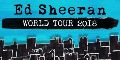 Ed Sheeran Concert Tickets (Toronto - August 30th)