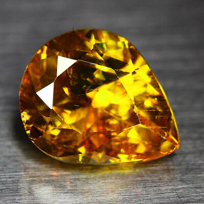 2.16 Cts_Diamond Top Luster_100 % Natural Unheated Golden Yellow Red Spot Sphene