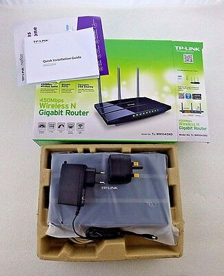 TL-WR1043ND Wireless Router 450Mbps