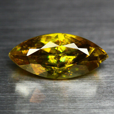 2.71 Cts_Diamond Top Luster_100 % Natural Unheated Golden Yellow Red Spot Sphene