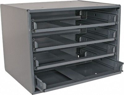 Durham 4 Drawer Slide Rack 15-1/4 Inches Wide x 11-1/4 Inches High x 11-3/4 I...