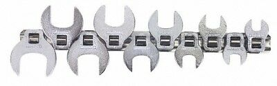 """Blackhawk™ by Proto® 10 Piece 3/8"""" Drive Open End Crowfoot Wrench Set 3/8 to ..."""