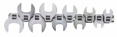 "Blackhawk™ by Proto® 10 Piece 3/8"" Drive Open End Crowfoot Wrench Set 10 to 2..."
