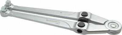 "Facom 25/32"" to 4"" Capacity, Satin Chrome Finish, Adjustable Face Spanner Wre..."