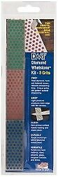 DMT 3 Piece Diamond Sharpening Stone Kit Fine, Extra Fine and Ultra Fine