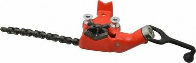 "Ridgid 1/8 to 2-1/2"" Pipe Capacity, Manual Chain Vise Bolt Down, Cast Iron, M..."