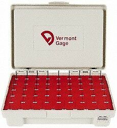 Vermont Gage 55 Piece, 0.006-0.06 Inch Diameter Plug and Pin Gage Set Minus 0...