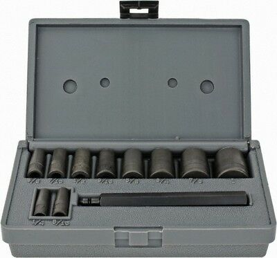 Lang 11 Piece Hollow Punch Set 1/4 to 1""