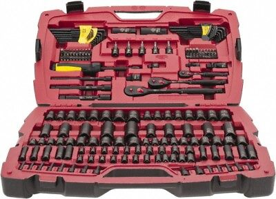 Stanley 179 Piece Mechanic's Tool Set Comes with Blow Mold Box