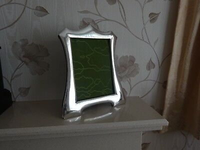 Large Antique Silver Picture Frame