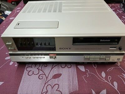 Sony Betamax Video Cassette Recorder Player
