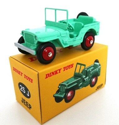 Dinky Toys - Jeep Willys - Norev Voiture Miniature 25J