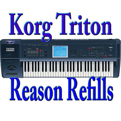 Korg Triton Soundbank Reason Refills Pro Quality Sample Library