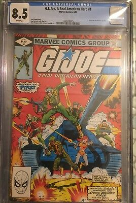 G.I. Joe A Real American Hero #1 CGC 8.5 White pages!