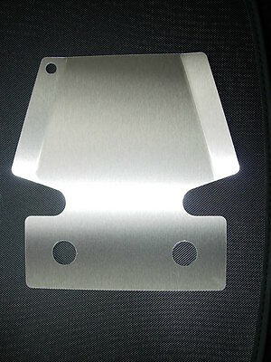 Towbar Bumper Protector, will not rust! Strong Stainless Steel, Made in the UK.