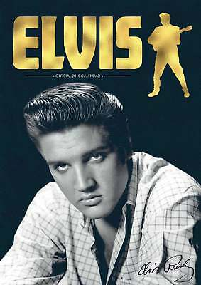 Elvis Presley Official A3 Calendar 2018
