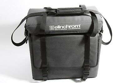 Elinchrom 2 Head Soft Case Excellent Condition