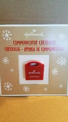 NIB 2017 Hallmark Northpole Communicator  Cartridge A  **see description**