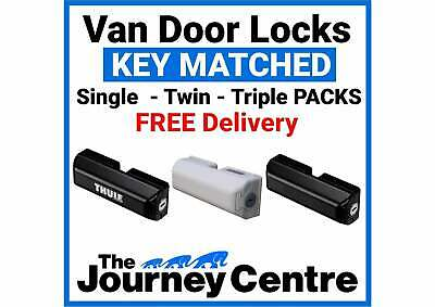 Van Side Rear Door Security Lock SINGLE-TWIN-TRIPLE Milenco Thule Black or White